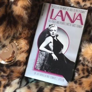 Vintage Lana Turner Biography 🌟 Old Hollywood